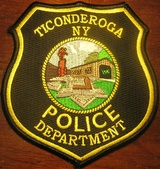 Ticonderoga Police Department, 135 Burgoyne Rd., Ticonderoga, NY, 12883, USA